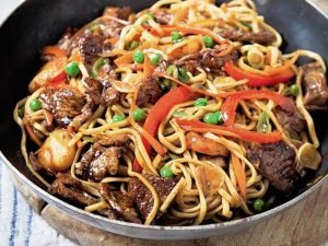 64. Beef Chow Mein