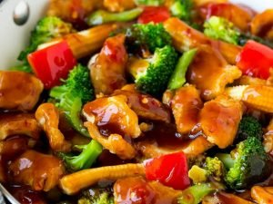 122. Chicken with Mixed Vegetables