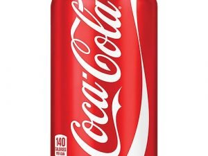 330ml Can of Soft Drink – Coca-Cola