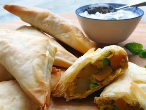 17. Deep Fried Spicy Samosa