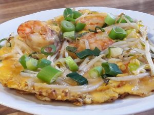 275. King Prawn Egg Foo Yung