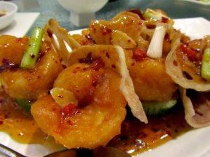 169. King Prawn with Peking Sauce