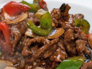 142. Beef with Thai Sauce