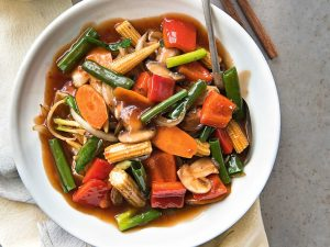 93. Sweet & Sour Vegetable Cantonese Style