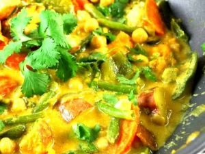 81. Vegetable Curry