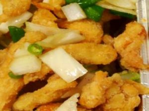 112. Chicken with Ginger & Spring Onion